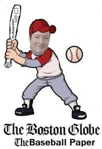 Chaddy at the bat.